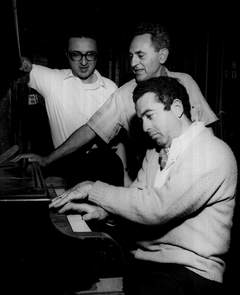 Sheldon Harnick, Joseph Stein, and Jerry Bock