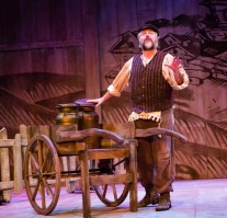 Tevye (photo credit: Tom Klingele)