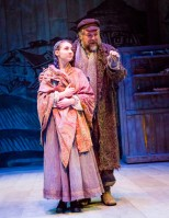 Tevye and Chava (photo credit: Tom Klingele)