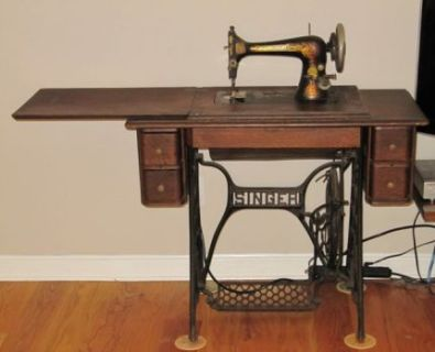 1907 Treadle-operated Singer