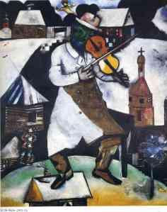 """Le violoniste"" (""The Fiddler"")"